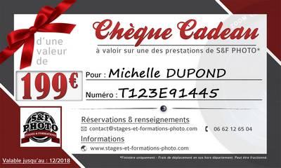 offrir un bon cadeau pour un stage photo à domicile dans le Finistère